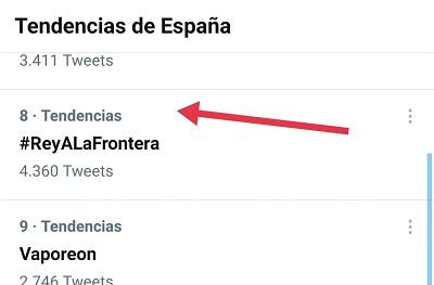 TT del HT #REyALaFrontera