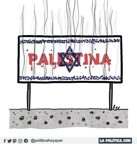 PALESTINA (Viñeta de Lex)