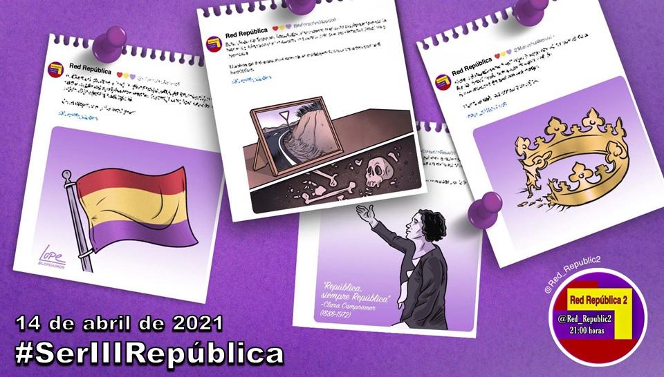 #SerIIIRepública. La selección de Red República del 14 de abril de 2021