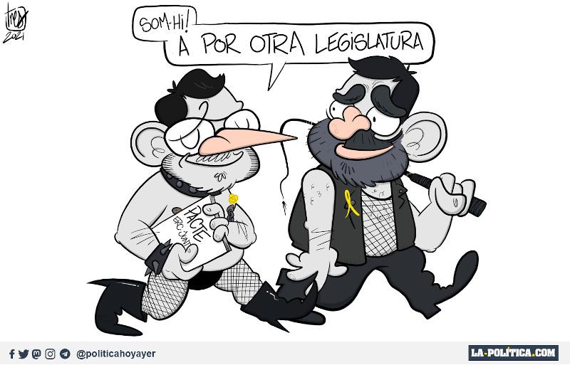 - SOM-HI! A por tora legislatura. (Viñeta de Tres)