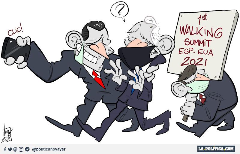 FIRST WALKING SUMMIT. ESP. EUA. 2021. - CLIC! - ? (Viñeta de Tres)