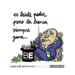 El Banco de España ni está ni se le espera