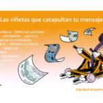 El Frente Viñetista quiere invadirnos con humor gráfico desde su nueva tienda online de viñetas